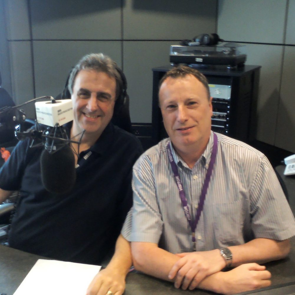 EBBC Radio Manchester Guesting with Eamonn O'Neal