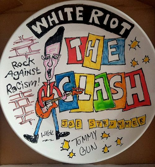 The Clash Plate by Wilde
